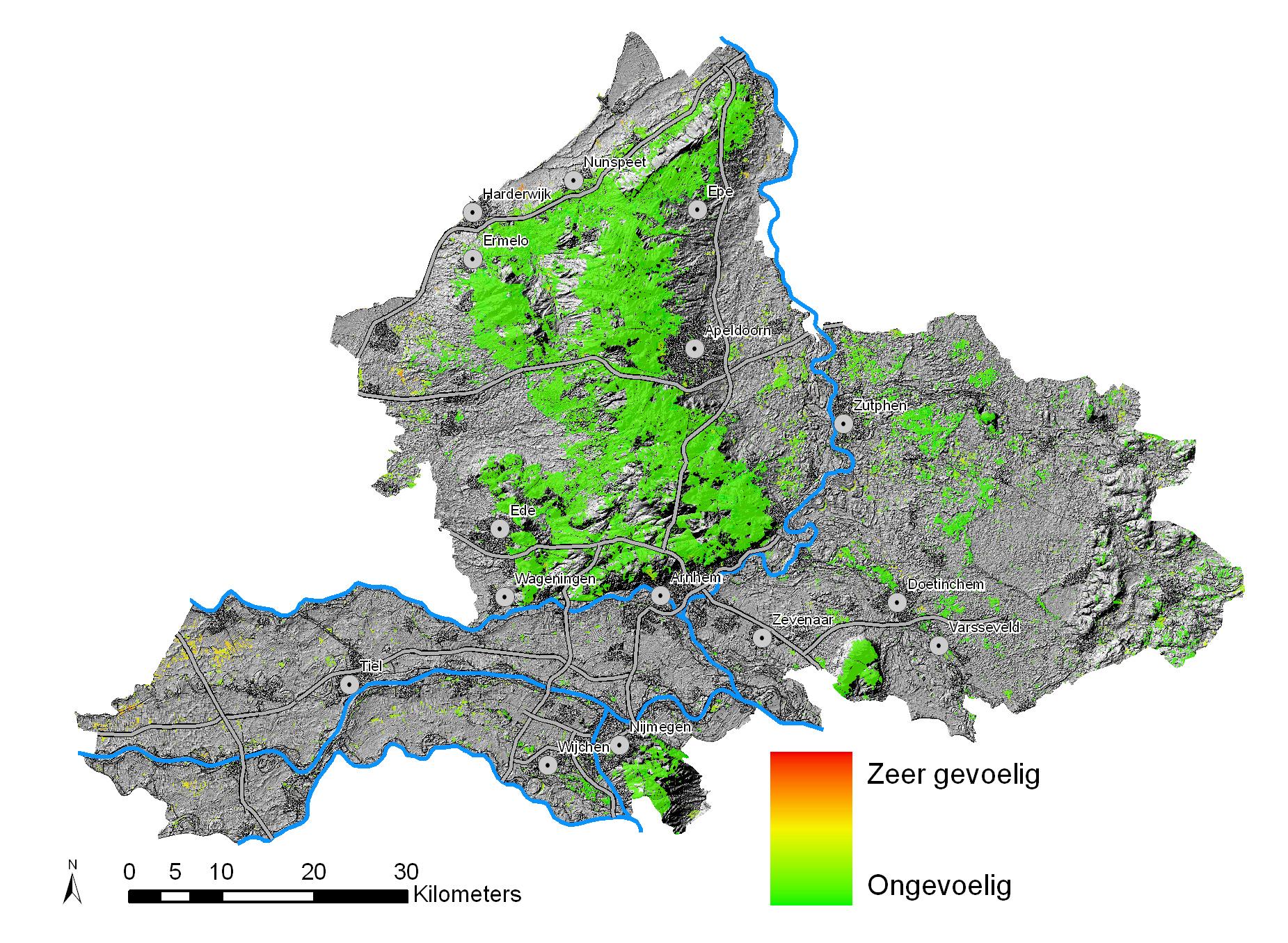Bossen en klimaatverandering