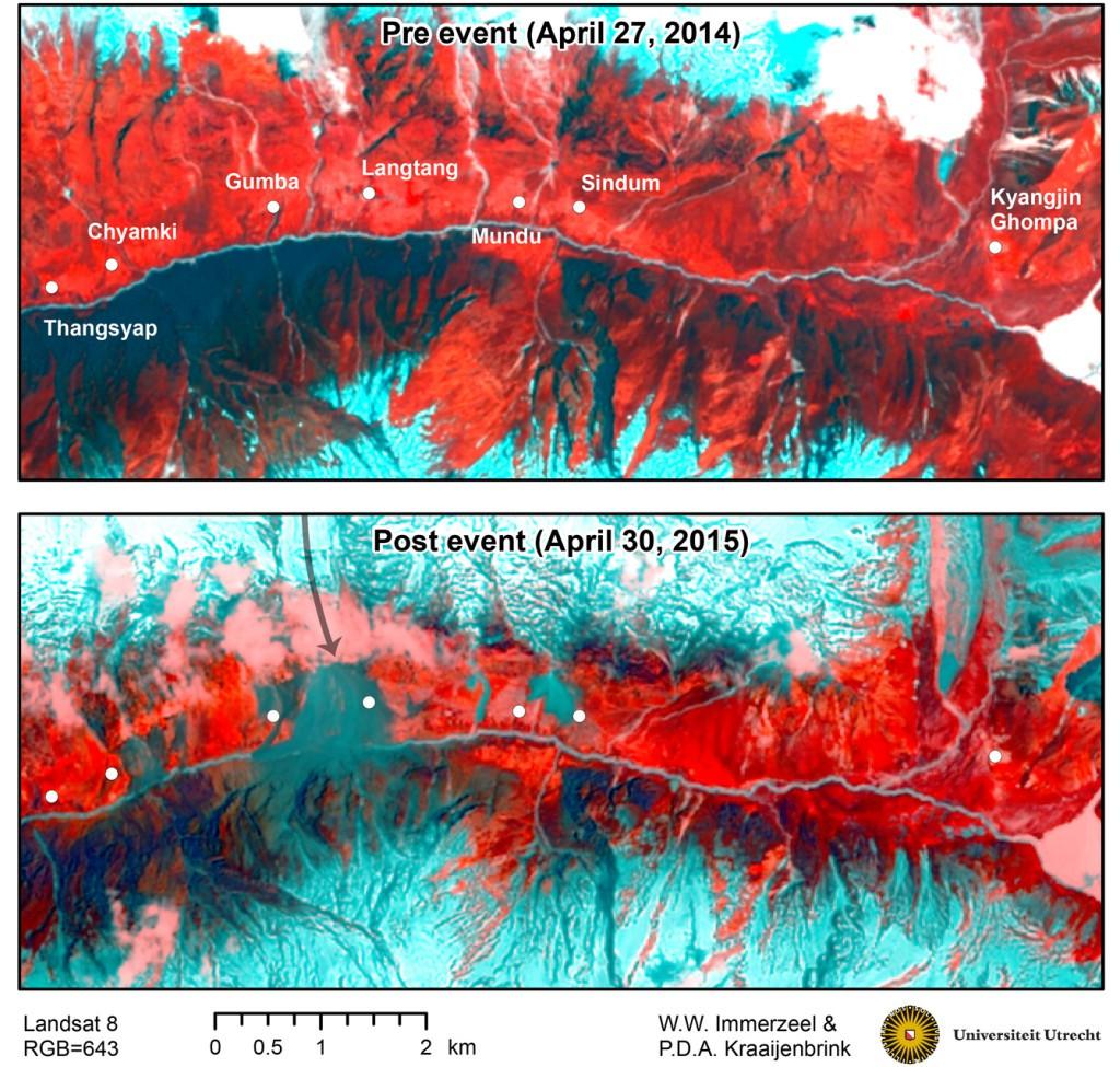 Langtang_landslide_landsat8_pre-post-1024x975