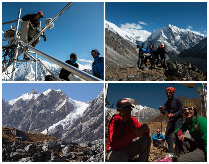 Expedition to the Langtang region in October 2015