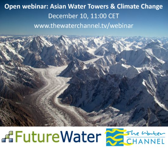 Open webinar: Asian Water Towers & Climate Change
